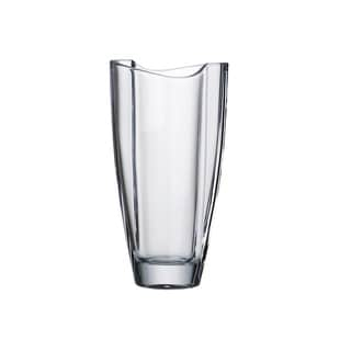 Majestic Gifts European Glass - Crystalline - Vase - Made in Europe