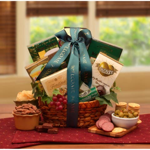 Congragulations on Your New Home Housewarming Basket