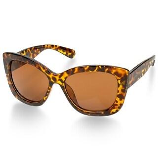 Laura Ashley SOPHIA Oversized Fashionable Ladies Sunglasses - Tortoise