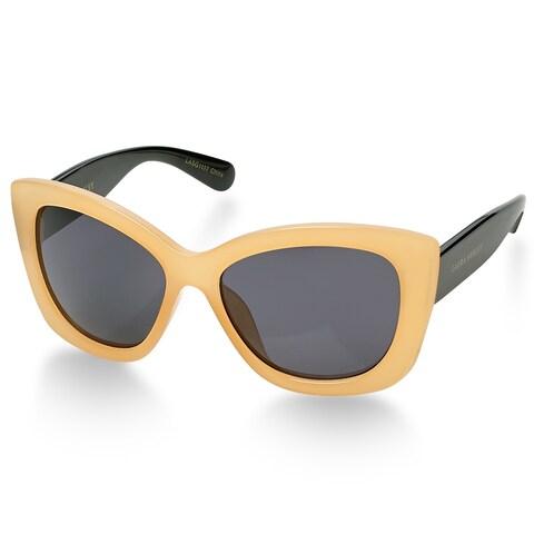 Laura Ashley SOPHIA Tan Oversized Fashionable Ladies Sunglasses - Multi