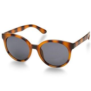 Laura Ashley MOLLIE Retro Round Sunglasses - Tortoise