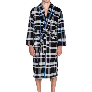 Robert Graham On The Beam Terry Velour Shawl Robe