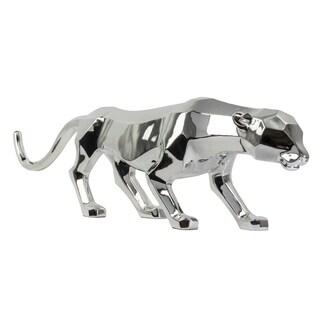 Modern Décor- Textured Chrome Panther
