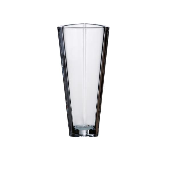 Majestic Gifts European Glass - Crystalline - Triangle Vase