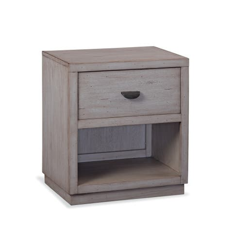 Parker Driftwood Nightstand by Greyson Living