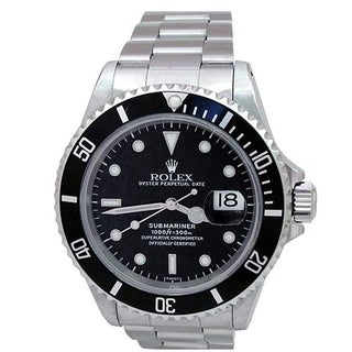 Pre-owned 40mm Stainless Steel Submariner Watch - N/A - N/A