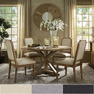 Link to Deana Round Dining Set with Arched Bridge Chairs by iNSPIRE Q Artisan Similar Items in Dining Room & Bar Furniture