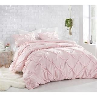 BYB Rose Quartz Pin Tuck Comforter