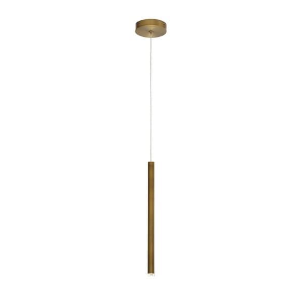 Eurofase Navada Sleek LED Small Pendant in Gold - 34164-020