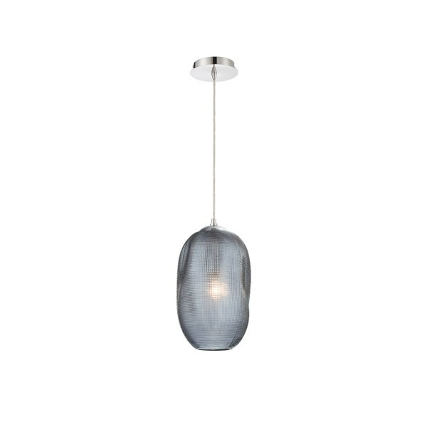Eurofase Labria Small Glass Pendant in Smoke - 34033-029