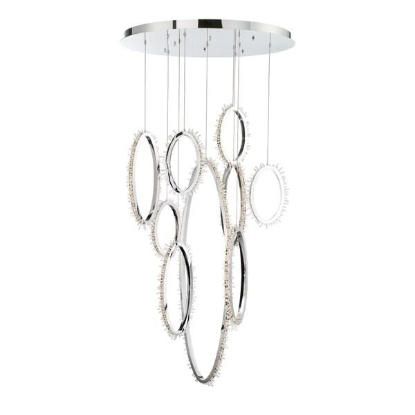 Eurofase Scoppia 9 Ring LED Chandelier - 33732-015