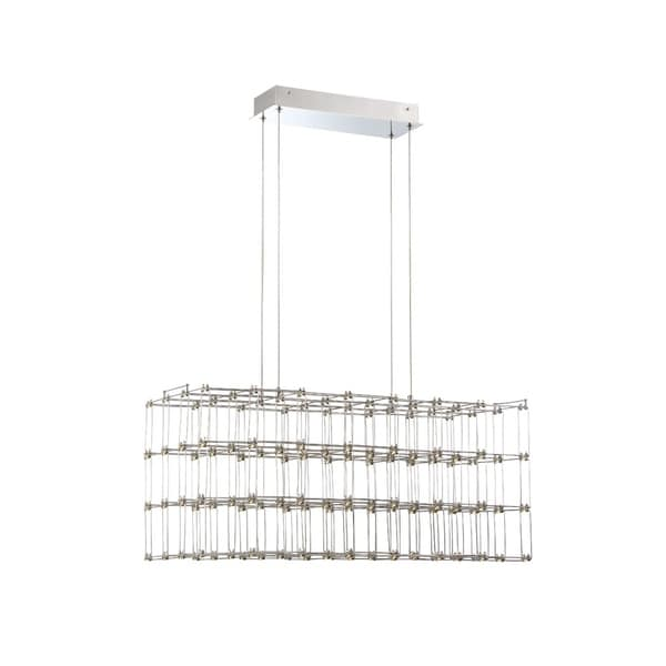 Eurofase Linwood Cage Rectangular LED Chandelier