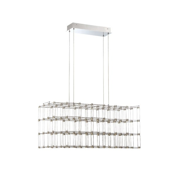 Eurofase Linwood Rectangular LED Cage Chandelier - 33717-012