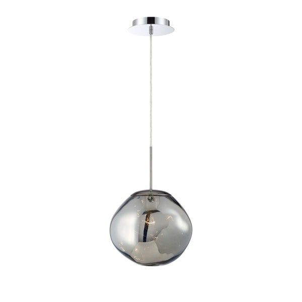 Eurofase Bankwell Pearlized Orb Light Pendant in Chrome - 34287-026