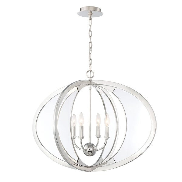 Eurofase Amherst Cocooned 4-Light Chandelier - 33707-013