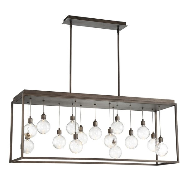 Eurofase Zarina 15-Light LED Chandelier - 34059-012