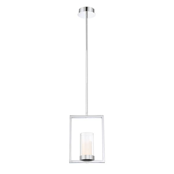 Eurofase Londra Chrome Metal LED Light Pendant