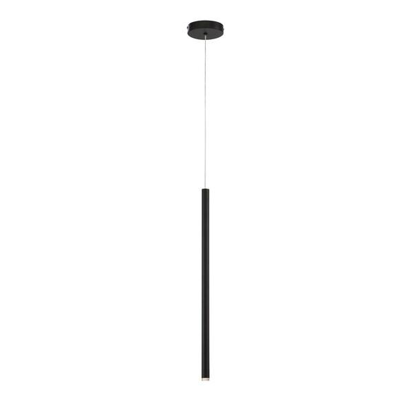 Eurofase Navada Sleek LED Medium Pendant in Black - 34165-041
