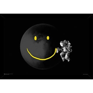 Make a Smile Poster With Choice of Frame (24x34)