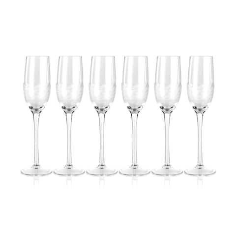 """""""Villa"""" Flute Champagne Glass (Set of 6)"""