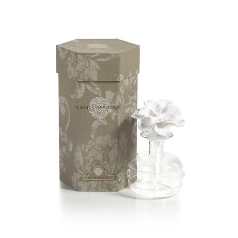 """Grand Casablanca"" Porcelain Diffuser, White Hibiscus Fragrance"