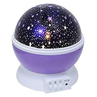 Night Lighting Lamp - 360 Degree Star Sky Moon Projector