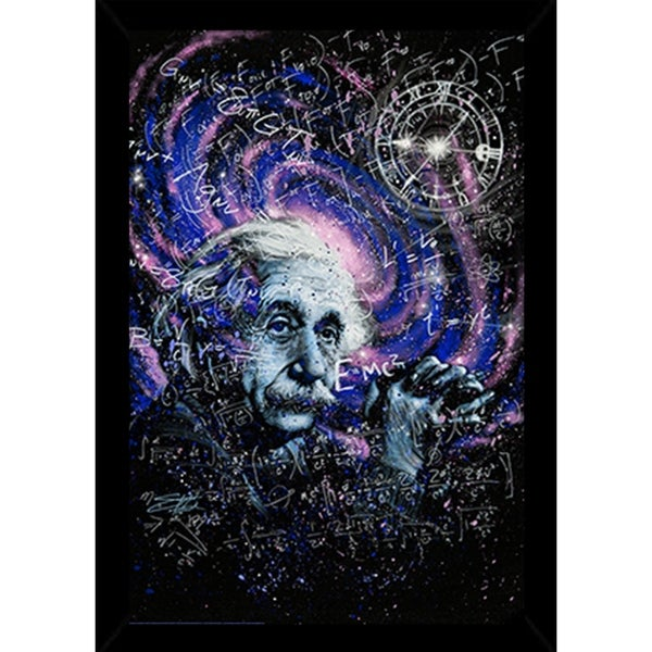 Shop Einstein Theory Poster With Choice of Frame (24x34) - Free ...