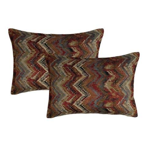 Sherry Kline Kiowa Waves Boudoir Decorative Pillows (Set of 2)