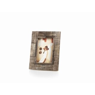 """""""Safi"""" 4"""" x 6"""" Horn Picture Frame"""