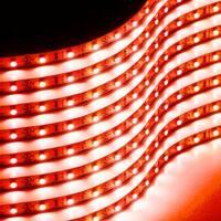 Zone Tech 30cm Flexible Waterproof Red Light Strips – 8-Pack LED Car Flexible Waterproof Red Light Strips