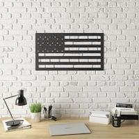 Stars and Stripes Modern Metal Wall Art