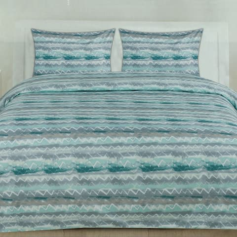 Summerset 3-Piece Patterned Duvet Set (Full/Queen, King)