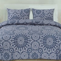 Oasis 3-Piece Patterned Duvet Set (Full/Queen, King)
