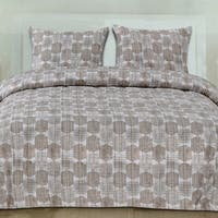 Monaco 3-Piece Patterned Duvet Set (Full/Queen, King)