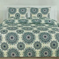 Ashley 3-Piece Patterned Duvet Set (Full/Queen, King)