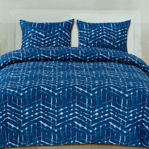 Monroe 3-Piece Patterned Duvet Set (Full/Queen, King)