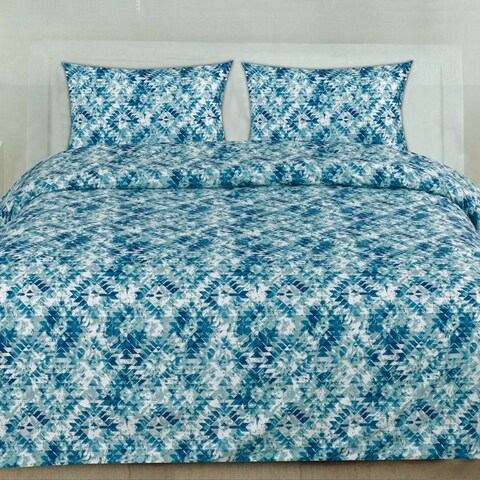 Aqualina 3-Piece Patterned Duvet Set (Full/Queen, King, King)