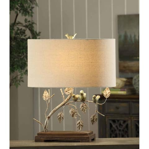 Ella Antique Blue and Green 23-inch Table Lamp
