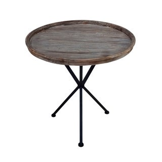 """21""""H Round Side Table"""