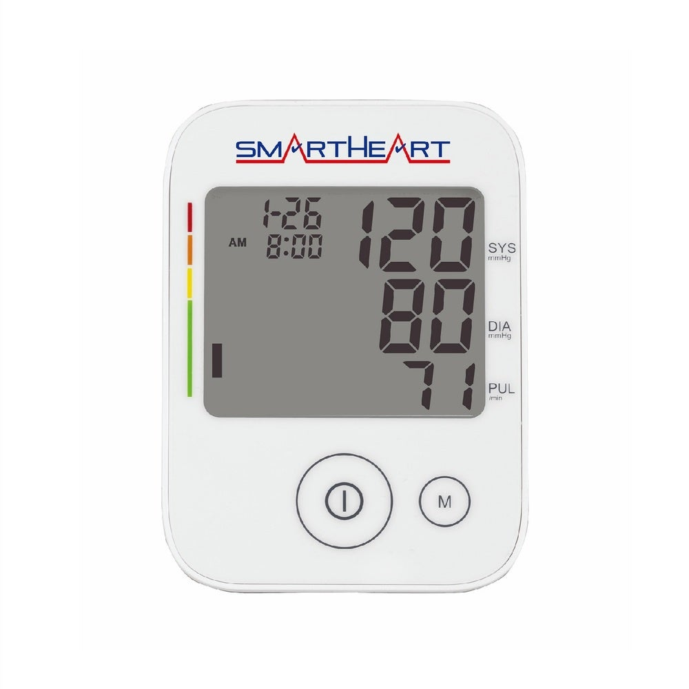 SmartHeart Automatic Digital Blood Pressure Arm Monitor with Wide Range Cuff