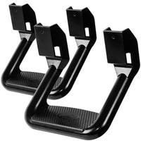 OxGord's Aluminum Side Step Set for Selected Vehicles for Assistance in entering & Exiting - Max Capacity Weight 350 lbs