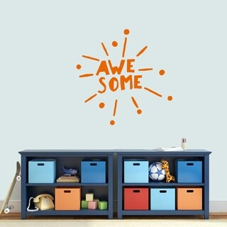 Awesome Burst Wall Decal