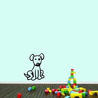Cartoon Dog Wall Decal
