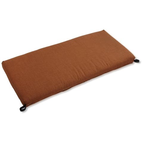 Blazing Needles 51-inch Solid All-Weather Bench Cushion