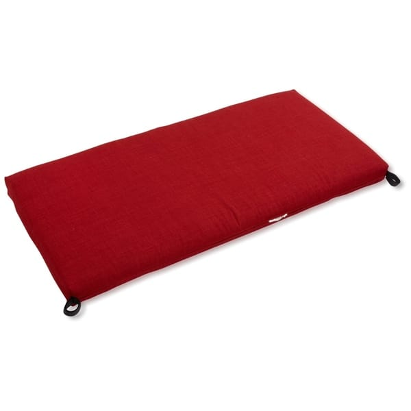 Blazing Needles 51 Inch Solid All Weather Bench Cushion On Sale Overstock 20713178
