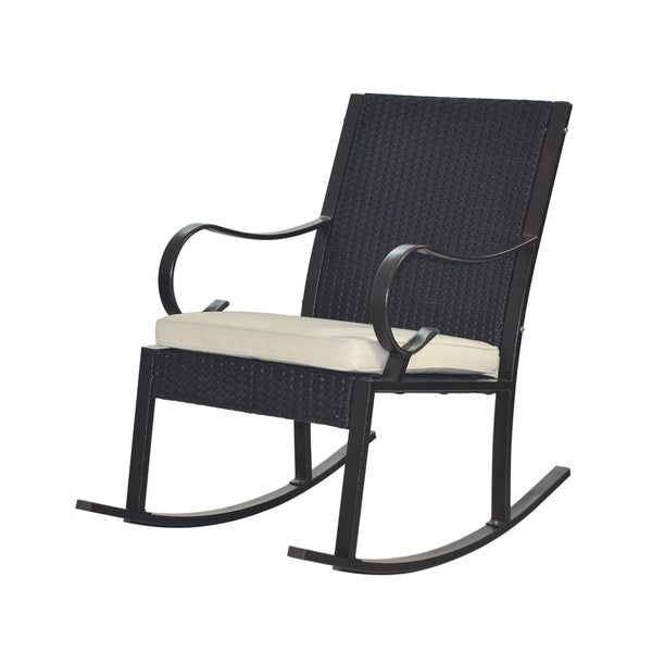 Harmony Outdoor Rocking Chair by Christopher Knight Home - Free ...