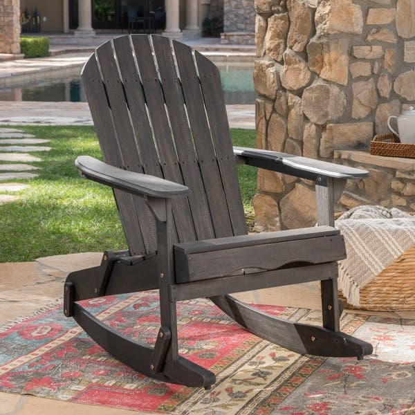 Peachy Shop Malibu Outdoor Adirondack Rocking Chair Set Of 2 By Pdpeps Interior Chair Design Pdpepsorg