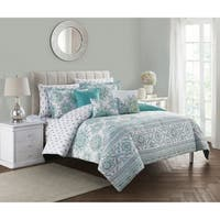 Clarissa 10pc Blue & Green Bed in a Bag Set