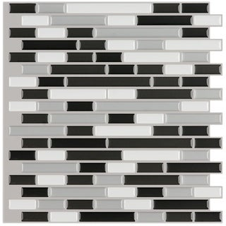 Peel and Stick 6-square-foot Mosaic Tiles (Pack of 6) (2 options available)