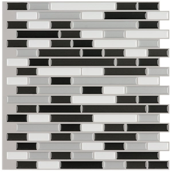 Shop Peel And Stick 6 Square Foot Mosaic Tiles Pack Of 6